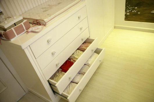 cômoda para quarto de bebê gaveteiro