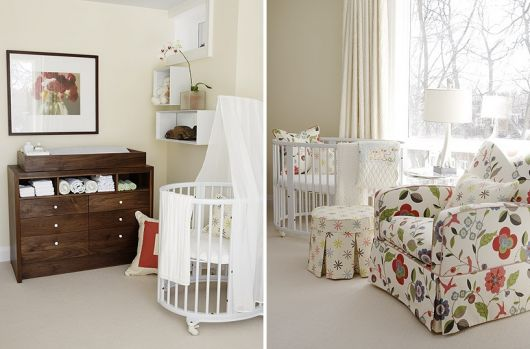 cômoda para quarto de bebê madeira escura