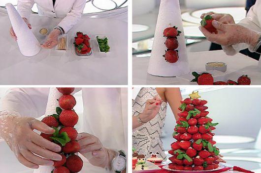 Enfeite De Frutas ~ Enfeites de Natal para Mesa u2013 50 Ideias Impressionantes& Como Fazer!