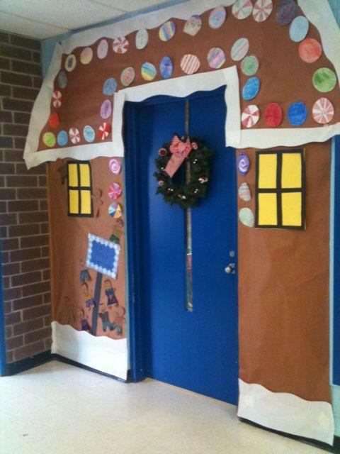 enfeites para porta de Natal educação infantil