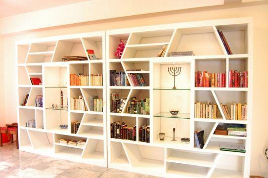 estante para sala moderna