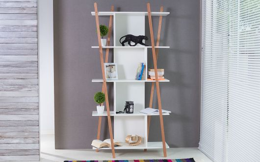 estante para sala pequena moderna