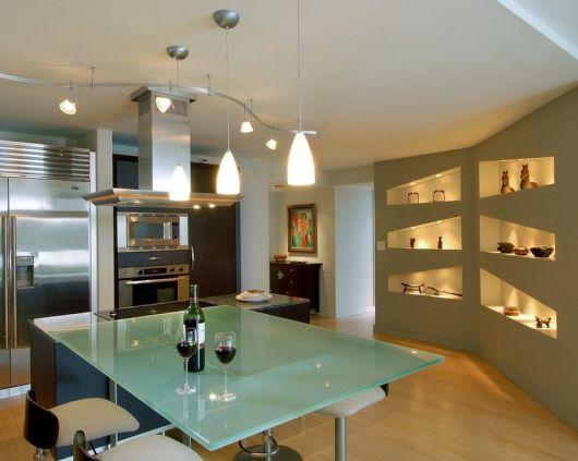 estante para sala de jantar planejada