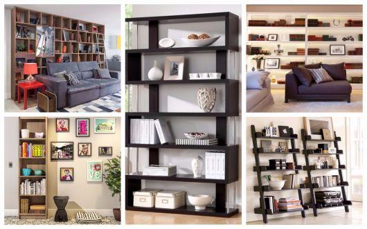 modelos de estante para sala inspiradores