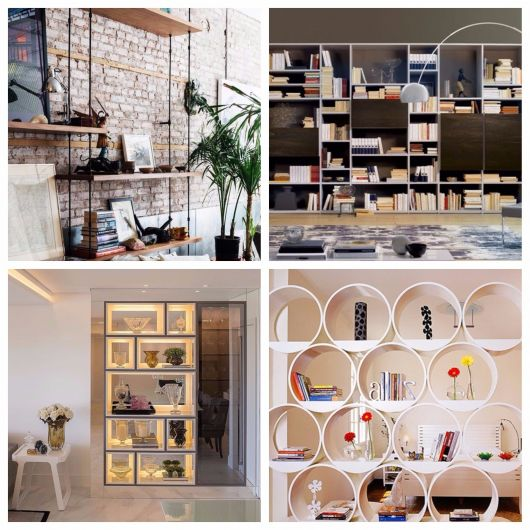estante para sala - modelos modernos