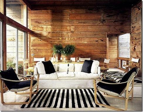 parede de madeira rústica
