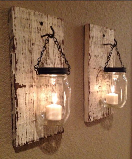 luminária de madeira para varanda DIY