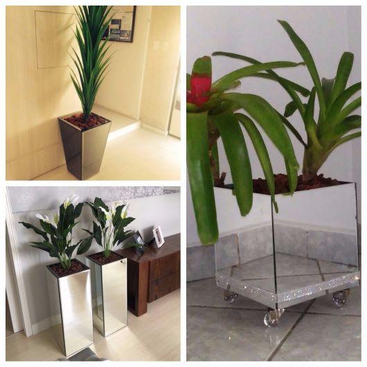 Decoração com Vaso Espelhado – 35 Modelos Lindos   Como Fazer! d5b7121f5c