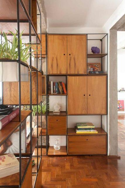 39 estantes modernas que deixam a decora o ainda mais incr vel - Estantes de pared originales ...