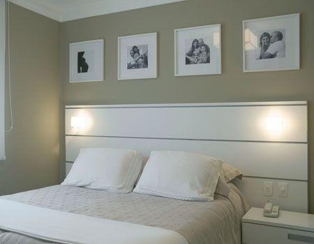 cabeceira branca para quarto de casal
