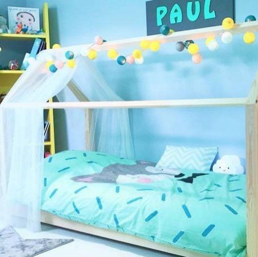 quarto azul menino
