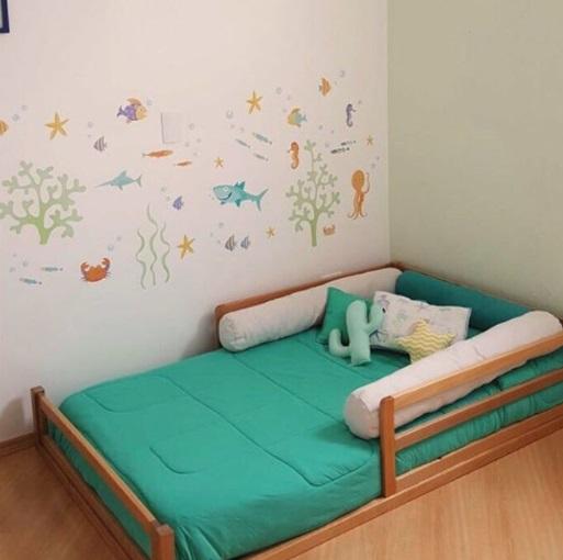 cama simples unissex