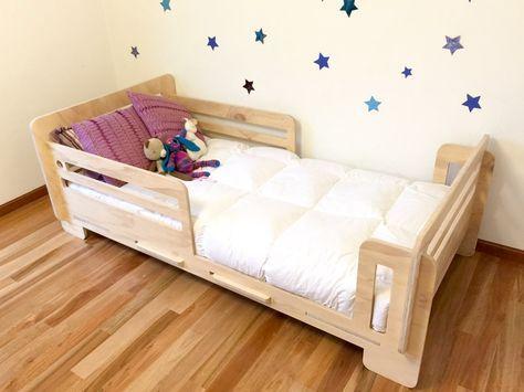 75 modelos de cama montessoriana apaixonantes onde comprar - Medidas de camas infantiles ...