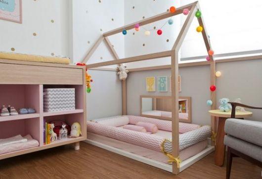 quarto com cama casinha