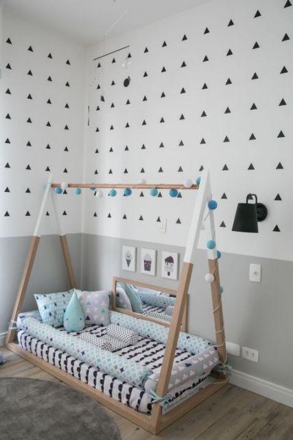 cama formato cabana