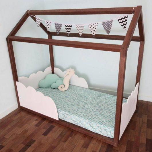 cama formato casa