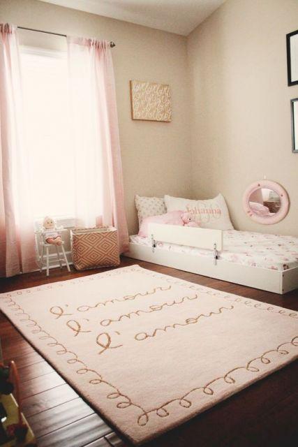 cama simples infantil