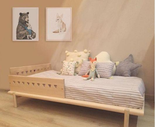 cama simples madeira