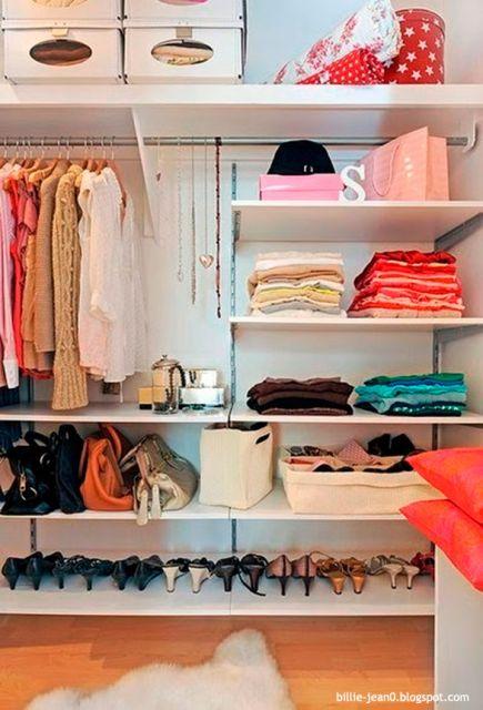 Como organizar guarda roupa 10 dicas imperd veis de for Como organizar espacios pequenos