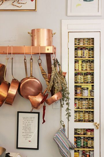 decor rose gold cozinha