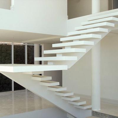 escada de concreto vazada