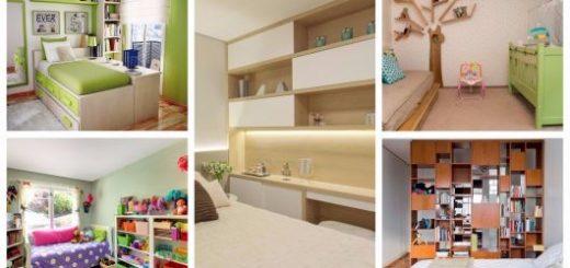 estantes para quarto bem elegantes