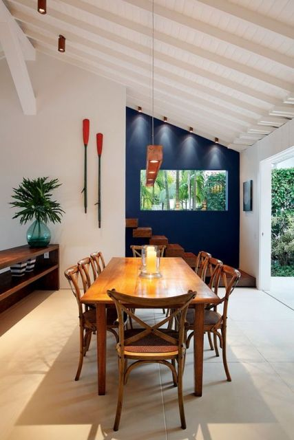 mesa 8 lugares decoração
