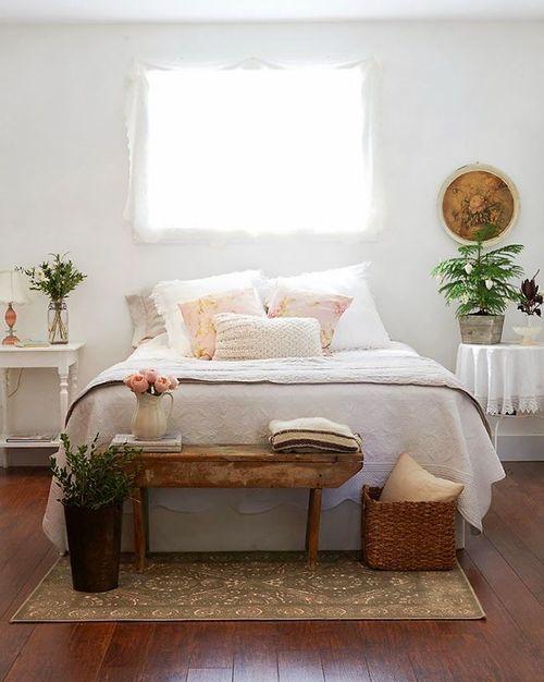 quarto decoração vintage