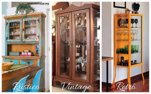 diferença rústico, vintage e retrô