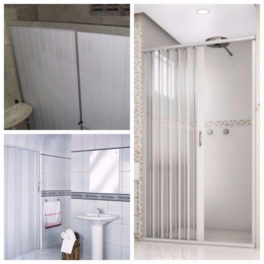 porta de PVC para banheiro