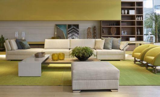 sofá moderno sala