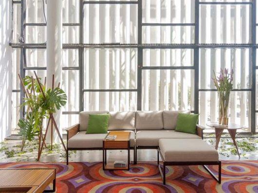 sofá simples