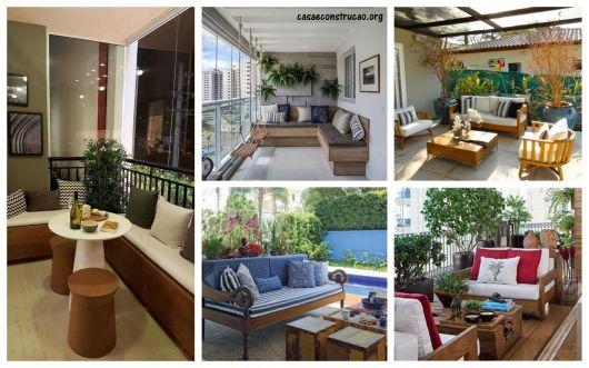 modelos de sofá para varanda