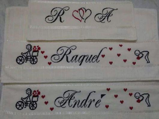 bordado romântico