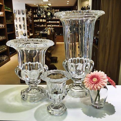 Decora o com vaso de cristal 68 modelos lindos dicas incr veis - Vasos grandes cristal ...