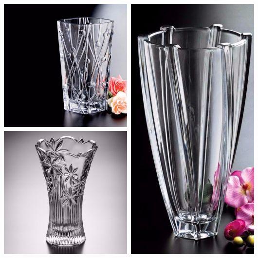 Vaso de cristal Bohemia