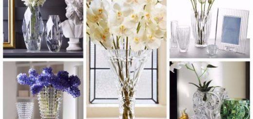 modelos de vaso de cristal