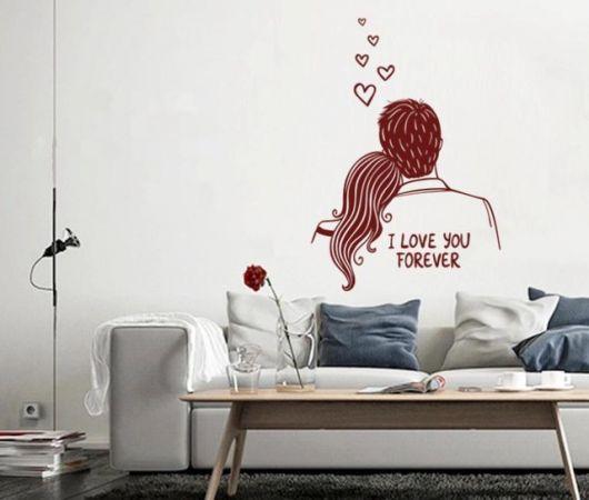 adesivos para quarto de casal criativos