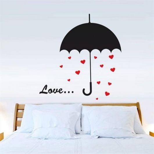 adesivos para quarto de casal simples