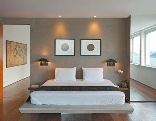 cama de alvenaria