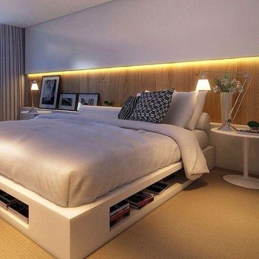 52 modelos de cama japonesa apaixonantes onde comprar - Base cama japonesa ...