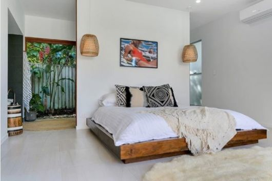 cama madeira rústica