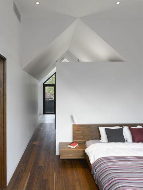 quarto moderno e planejado