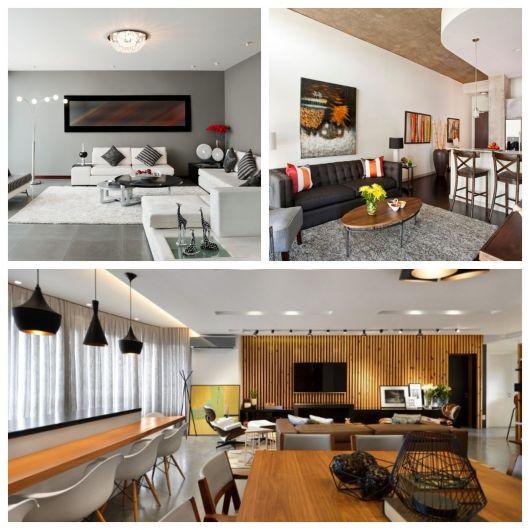 60 Salas Com Sofá Vermelho Incríveis: 60 Ambientes Incríveis & Dicas