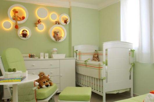 quarto de bebê menino safari
