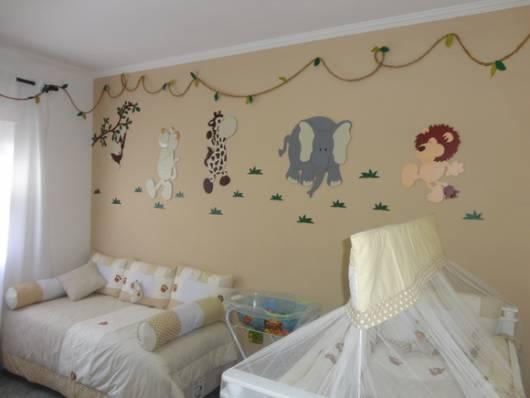 decoração EVA quarto menino