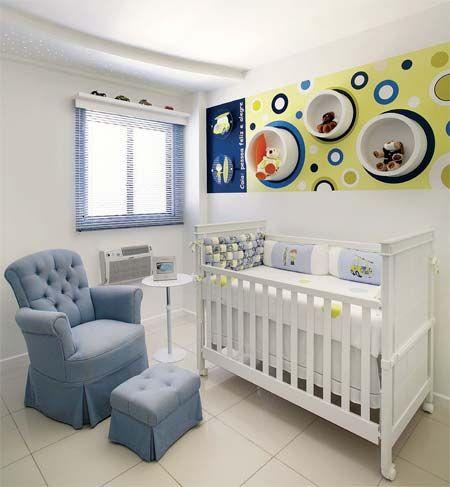 quarto de bebê menino ideias