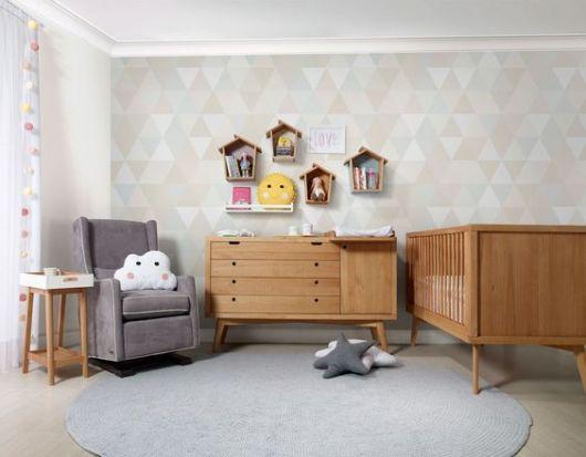 decoração retrô quarto de bebê