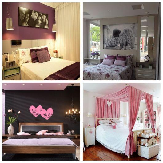 decoração de quarto de casal romãntico