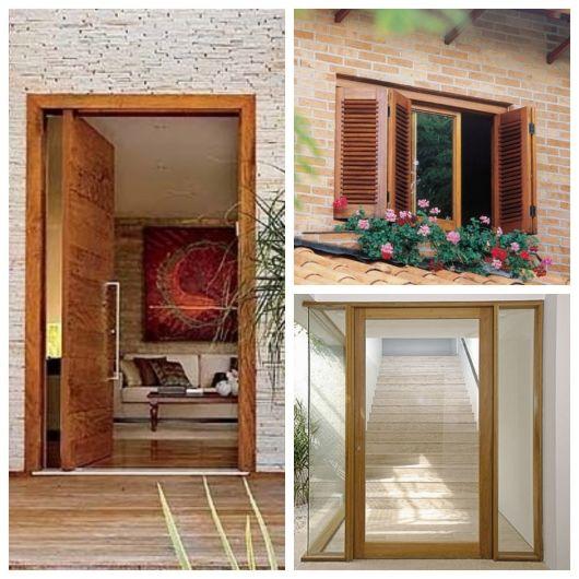 esquadrias de madeira exemplos